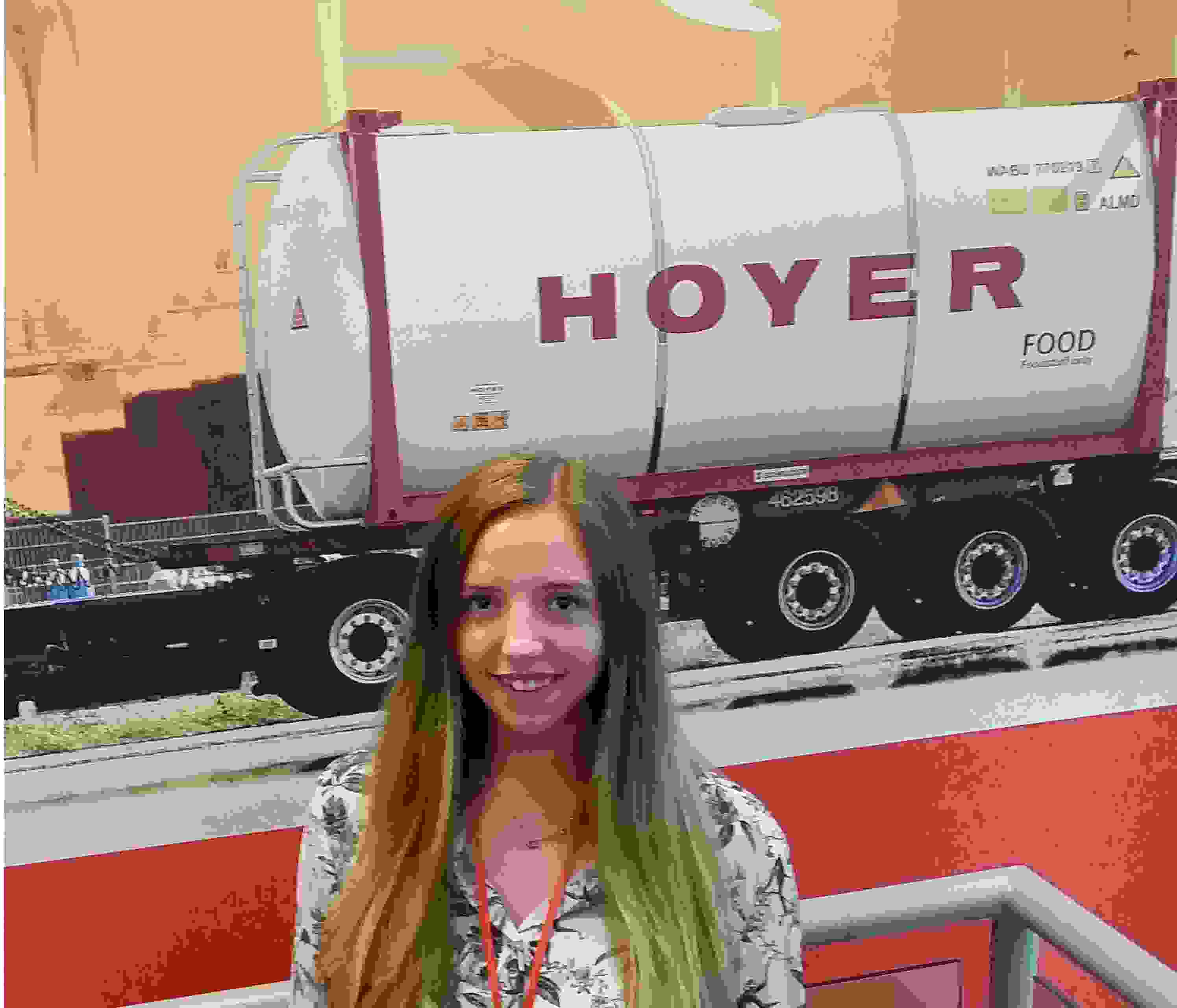 Location Transport Manager, Hannah Provan